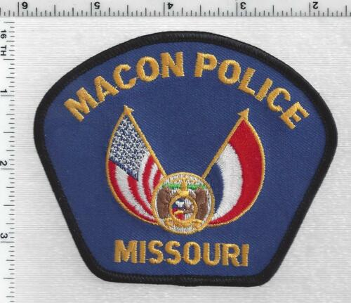 Macon Police (Missouri) 2nd Issue Shoulder Patch
