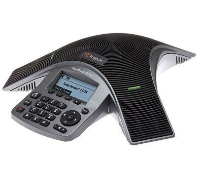 New Polycom Soundstation Ip 5000 Conference Phone Voip Poe 2200-30900-025
