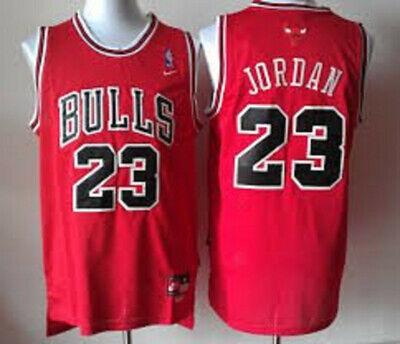 JORDAN CAMISETA DE LA NBA DE LOS BULLS ROJA. TALLA S,M,L,XL,2XL.