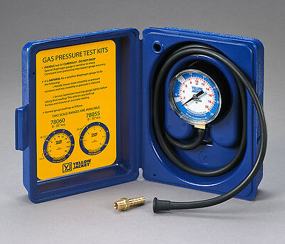 Ritchie Yellow Jacket 78055 Gas Pressure Test Kit - 0-10 W.c.