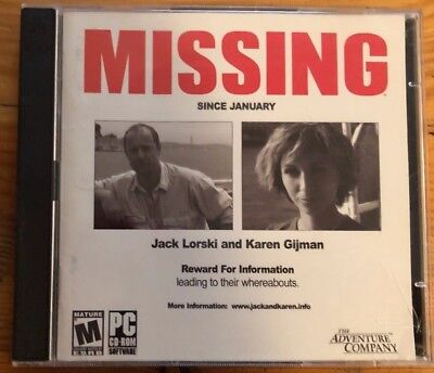 Missing Since January (PC game) - Since Games