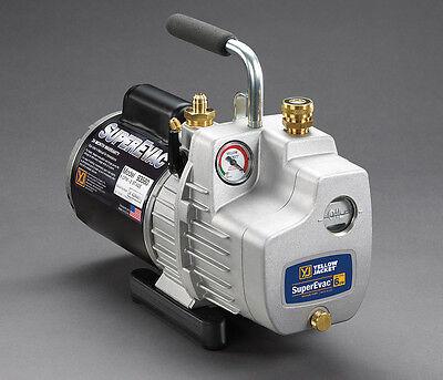 Yellow Jacket 93590 Superevac Vacuum Pump 11 Cfm 115v 60 Hz Single Phase