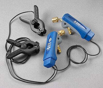Yellow Jacket 67002 Mantooth Dual Pressuretemperature Gauge Set