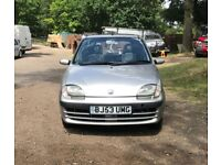 Fiat seicento active sport for sale, MOT, very low mileage, very good runner, drives perfect.