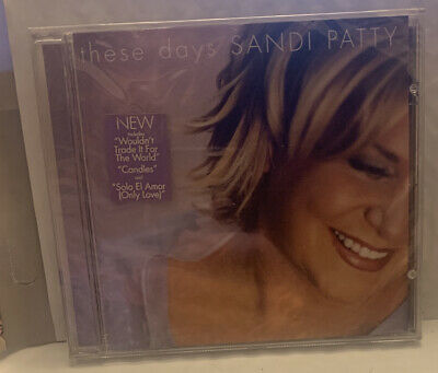 Sandi Patty ‎– These Days  - NEW CD STILL SEALED