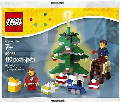 LEGO Seasonal Decorating the Tree (40058) BRAND NEW IN POLYBAG!