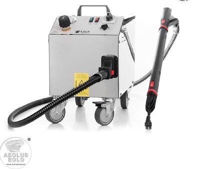 Trockenen Dampf (EOLO LP01RA Professioneller Dampfreiniger mit 6 Bar Trockendampf + Auto-Refill)