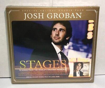 Josh Groban- Stages & Noel 2 CD SET, NEW, SEALED