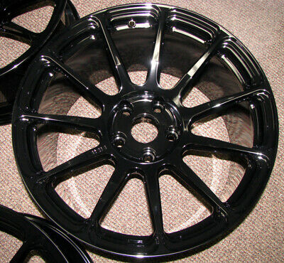 Tiger Drylac Wet Black Gloss Black Powder Coat Paint - New 1lb