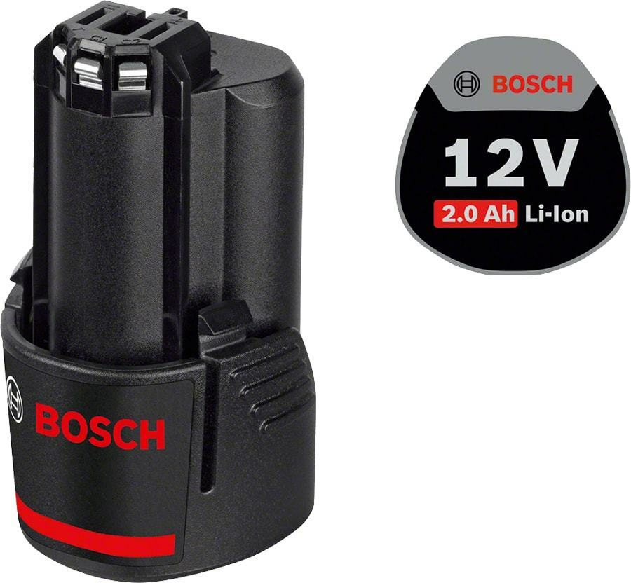 Bosch Akkupack GBA 12 V 2,0 Ah (1600Z0002X) / 100% compatibel zu GBA 10,8V