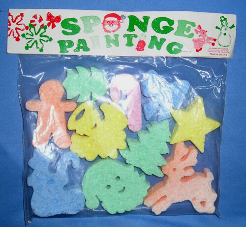 Holiday Shape Craft Sponges for Decorative Painting
