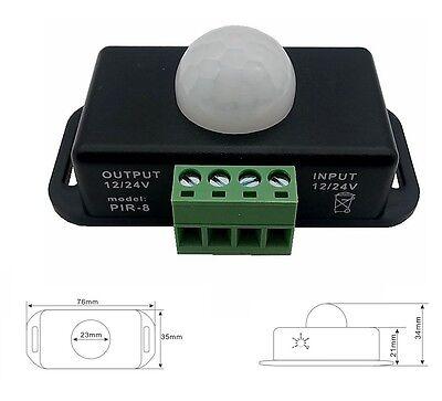 Automatic Dc 12-24v 8a Infrared Pir Motion Sensor Switch For Led Light Stylish L