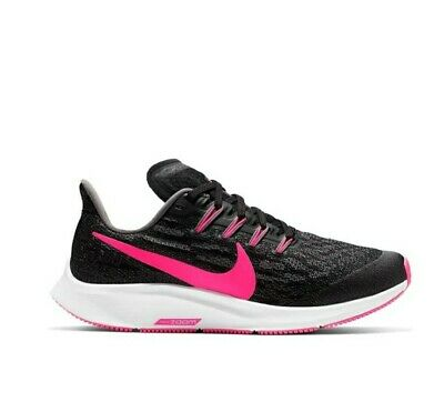 Nike Air Zoom Pegasus 36 Black Pink Womens running trainers UK 4.5 EUR 37.5 5Y
