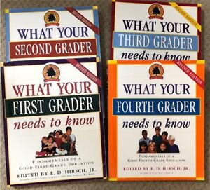 4 Books - What Every 1st, 2nd 3rd & 4th Grade Needs to Know