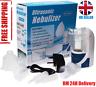 Portable Ultrasonic Nebulizer Handheld Nebuliser Inhaler Respirator UK Stock NEW