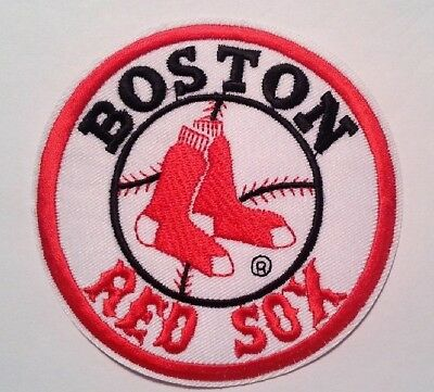 Red Sox Mlb Applique - Boston Red Sox Embroidered Applique PATCH~4