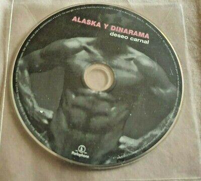 CD PROMO ALASKA Y DINARAMA DESEO CARNAL PICTURE DISC PEGAMOIDES FANGORIA
