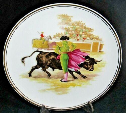 Spanish Matador Bullfighting Decorative Plate Spain Souvenir 6.75 inches