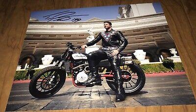Travis Pastrana Signed 8X10 Photo Evil Knievel Evil Live History Channel Proof