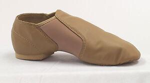 Dance-Class-by-Trimfoot-Company-GB600-Nude-Tan-Split-Sole-Slip-On-Jazz-Shoe