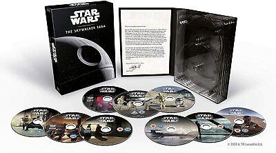 Star Wars Complete The Skywalker Saga 1-9 (New DVD Box Set 9 Discs)