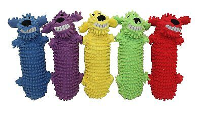 (Multipet Loofa Floppy Water Bottle Buddies Dog Toy Colors Vary (Free Shipping US)