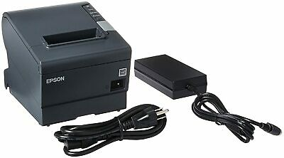 Epson Tm-t88v M244a Usb Serial Thermal Receipt Printer Wps-180 Power Supply