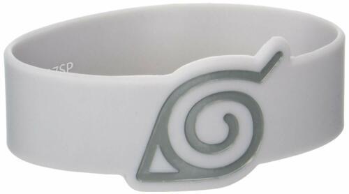 *NEW* Naruto Shippuden: Konoha Symbol PVC Wristband by GE Animation