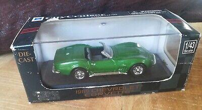 CityCruiser 1:43 - Chevrolet Corvette 1968 (Neuve en bôite)