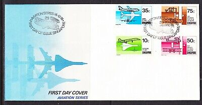 Singapore 1978 Aviation First Day Cover - No 1