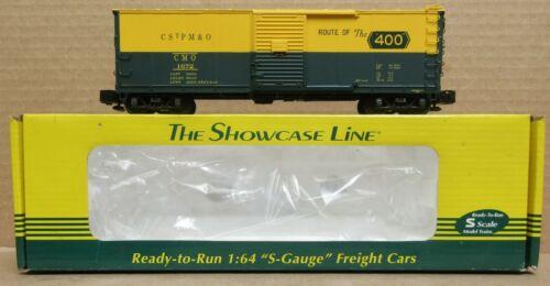 S-Helper 00577 Chicago & Northwestern/CMO Rblt. Boxcar #1672 NIB S-Gauge/Scale