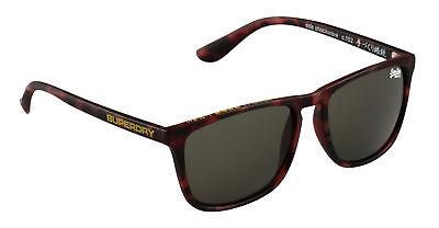 Superdry Sonnenbrille Sds Shockwave Braun-grau - Unisex - Verspiegelt - Neu