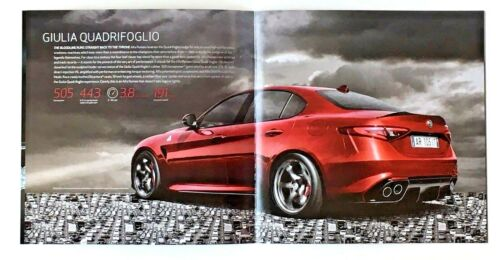 2016 Alfa Romeo Giulia Sales Brochure Quadrifoglio Giulia Ti 18 Interio Photo AD