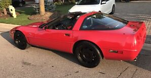 1991 CORVETTE 6 SPEED 94,000 kms