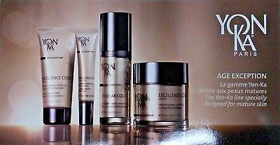 Yonka Excellence Code Creme Contours Masque & Cellular Serum x3 EXP 05/2021