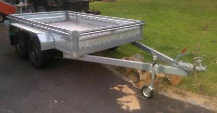 10x6 foot (3m x 1.8) Dual Axle, Gal Trailer Kew Port Macquarie City Preview