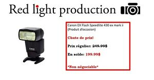 Canon flash ex speedlite 430 ex mark ii