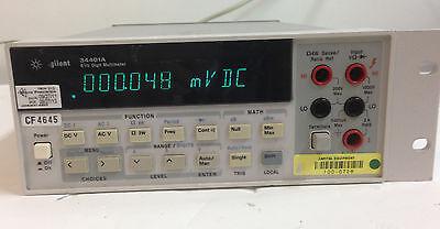 Agilent Hp 34401a Digital Multimeter