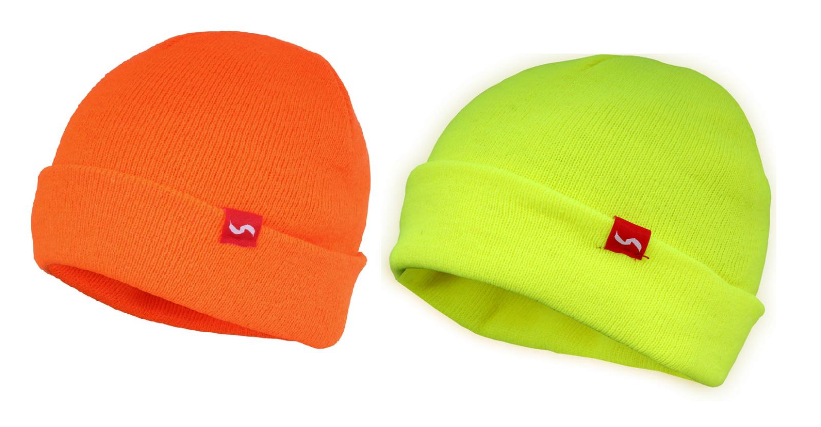 Traega Hat-Ac Gefärbt Hohe Sichtbarkeit Acryl Mütze Stil Hut Kalt Shutz-