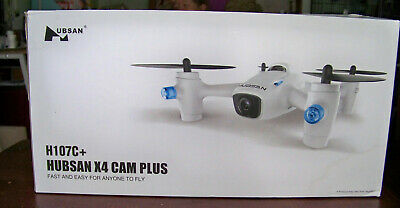 Hubsan X4 CAM Plus H107C+ Drone Quadcopter 2.4GHz 4 Channel LED HD 720P Camera