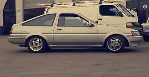 1983 Toyota Sprinter AE86 5 SP Manual, 4AG Supercharged
