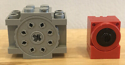 USED Lego Technic Electric Micro Motor Red Pulley System USED 6637