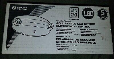 New Lithonia Lighting Adjustable Led Emergency Lighting Unit Elm2 Led M12