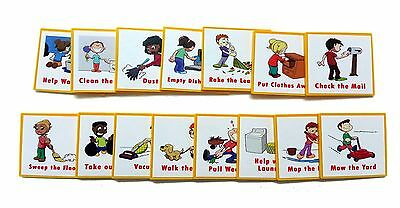 I Can Do It reward chart  Supplemental Chore Pack 15