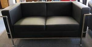 New Replica Horst Bruning 2 Seater Retro Office Sofa Lounge Suite Melbourne CBD Melbourne City Preview