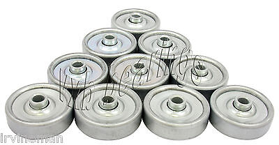 Conveyor Skate Roller Bearing 8x50x32 Pack Of 10 Miniature Conveyor 8322