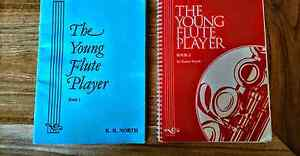 The Young Flute Player, book 1 & 2 Carine Stirling Area Preview