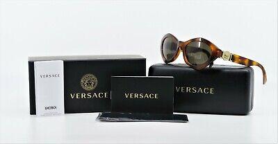 VERSACE Unisex Retro Tortoise/Gold Sunglasses w/ Box MOD 4334 5119/71 54mm