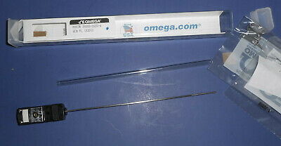New Omega Type J Thermocouple Probe 6 Ungrounded Stainless 116 Jmqss-062u-6