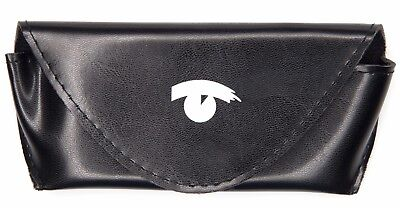 New Visionworks Soft Eyeglasses Case Pouch Black 160X75x20 With Cleaning Cloth